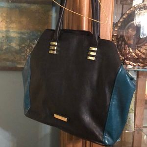 Black Steven madden purse
